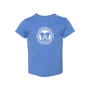 Toddler Heather Blue Tee