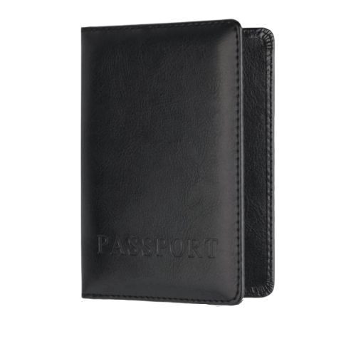 Vegan Leather Passport Cover