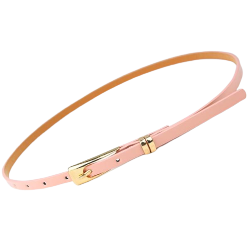 Vegan Leather Belt Thin (For Women)