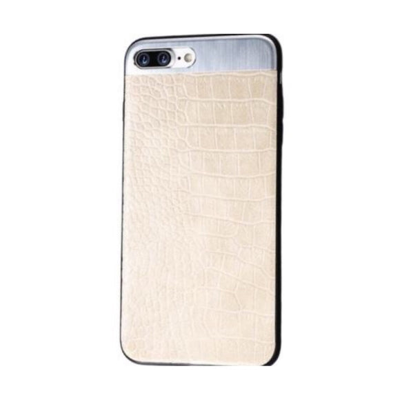Vegan Leather Iphone Case With Metal (Unisex)