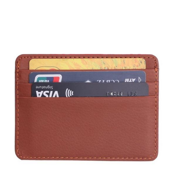 Vegan Leather Card Holder (Unisex)