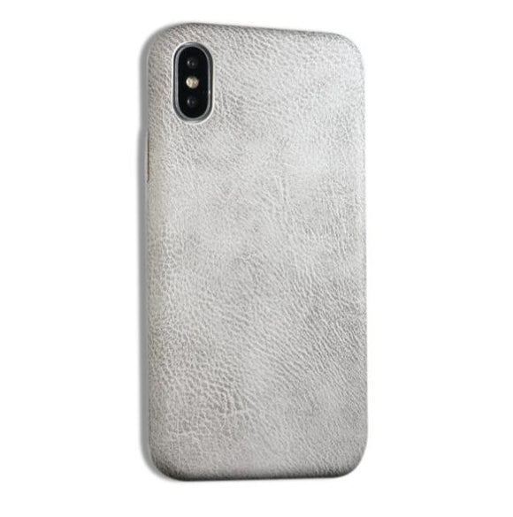 Vegan Leather iPhone Case - Leather Pattern (Unisex)