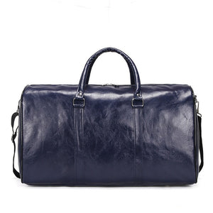 Vegan Leather Weekender Bag (Unisex)