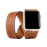 Vegan Leather Apple Watch Band - Double (Unisex)