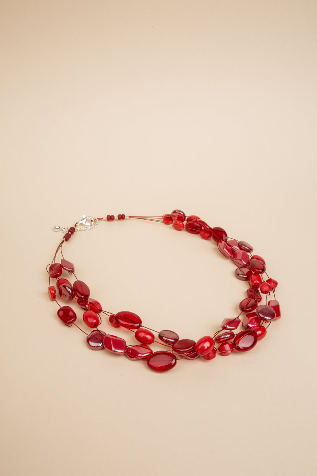Collier Mathilde rouge