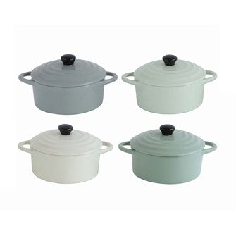 Mini Stoneware Baking Dish, Assorted Colors