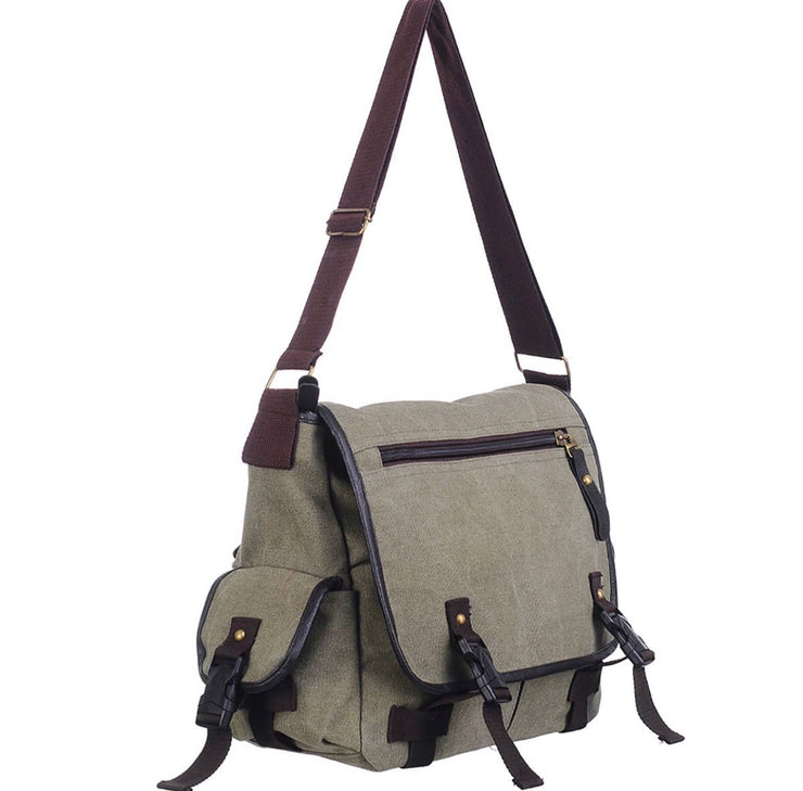 Army Canvas Messenger Bag