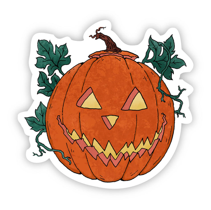 Jack O'Lantern Fall Sticker