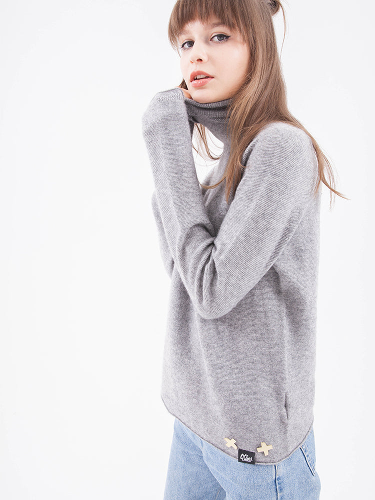 Jersey Knit Turtlneck