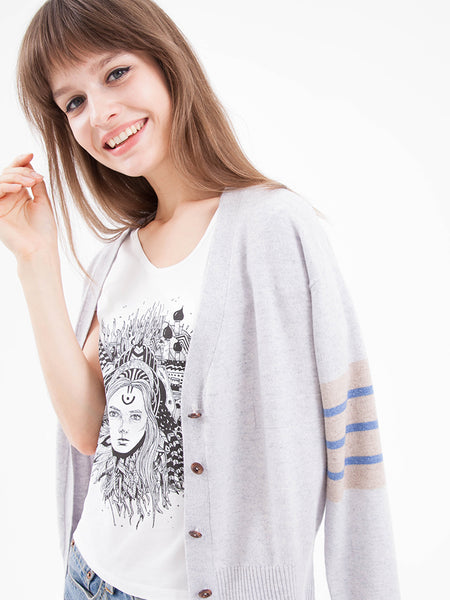 Gift Set - Armband Cardigan & Graphic Tee
