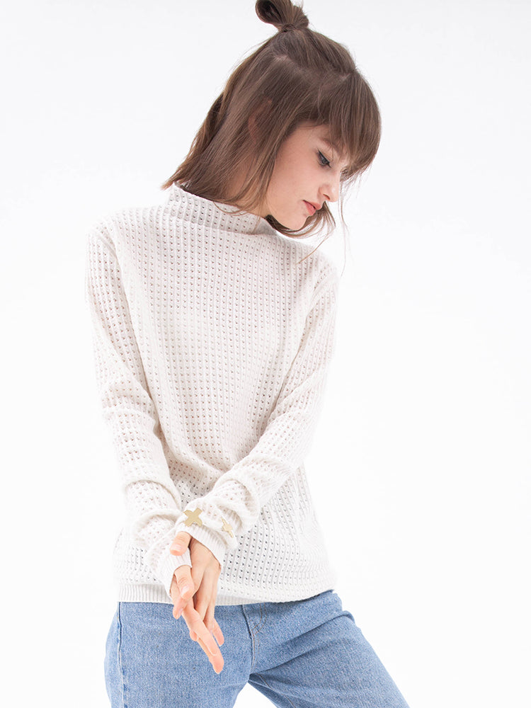 'Sheer' Cashmere Sweater