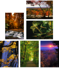 Autumn in the Cuyahoga Valley - Box of 6 Notecards