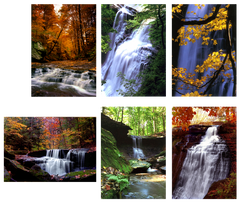 Falling Water in the Cuyahoga Valley - Box of 6 Notecards