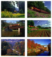 Cuyahoga Valley Scenic Railroad - Box of 6 Notecards