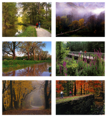 Ohio and Erie Canal Towpath Trail - Box of 6 Notecards