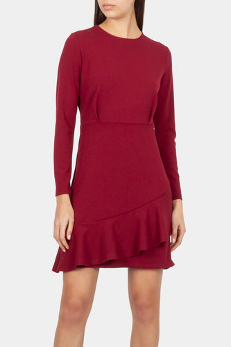Cotton Brothers Ladies Rustic Red Long Sleeve Dress