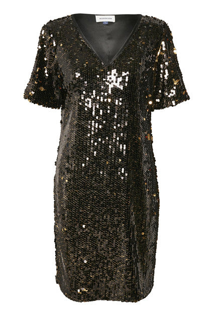 Sascha Sequin Dress