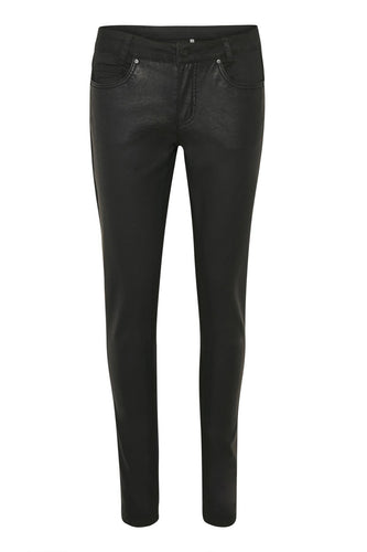 Canny faux Leather Front Style Jeans.