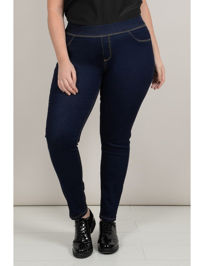 Curve Jean effect Jeggings