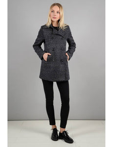 Ladies Midnight Blue Coat