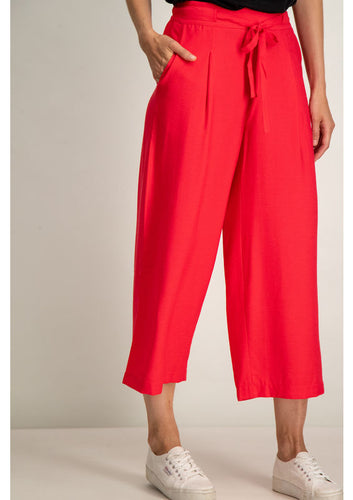 Coral Culotte Trousers