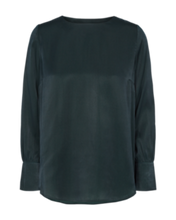 Freequent Ladies Forest Green Top