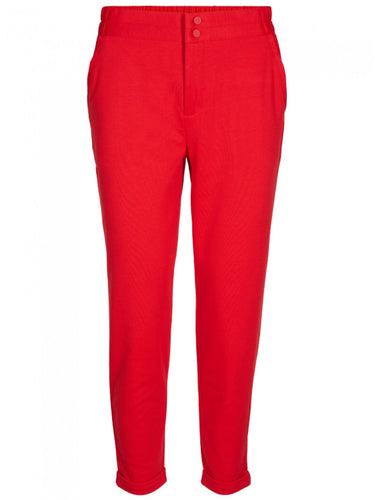 Red Slim Fit Trouser