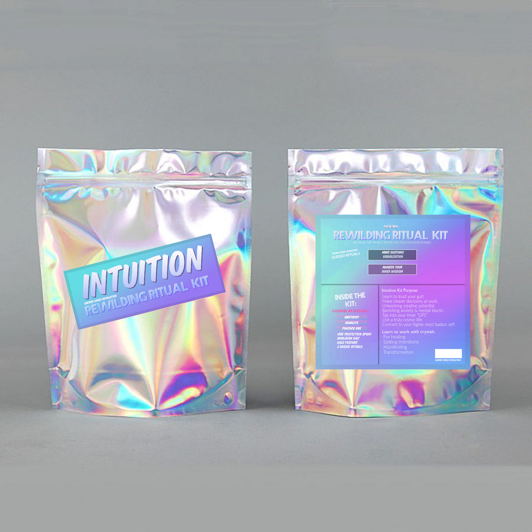 WHOLESALE INTUITION Rewilding Ritual Kit (RETAILS $32)