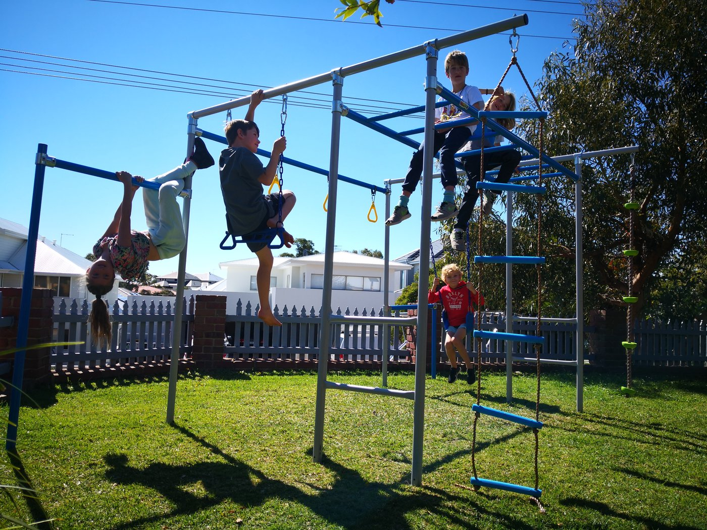 Monkey Bars for Your Kids