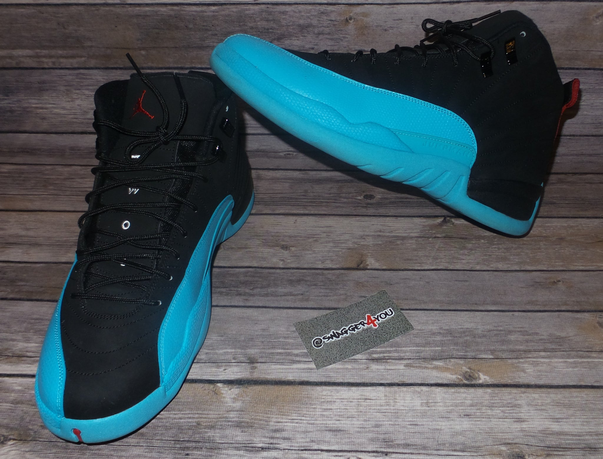 b1430c7574bd Air Jordan 12 Retro  Gamma Blue  - swagger4you