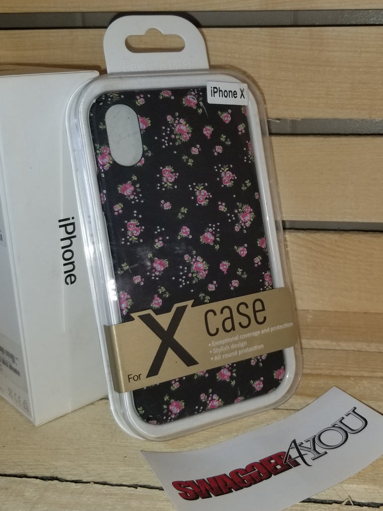 iPHONE X Floral case - swagger4you