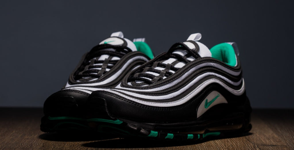 53a1ddd581 Airmax 97 Clear Emerald (youth) - swagger4you. Tap to expand