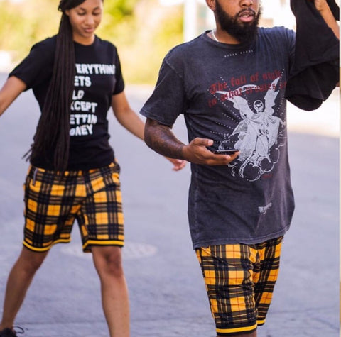 Plaid Short by Rolling Paper