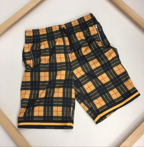Plaid Short by Rolling Paper - swagger4you