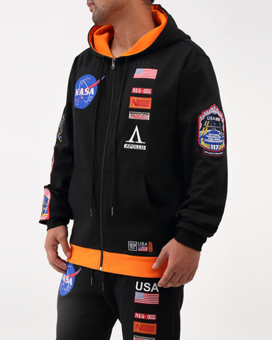 THE MEATBALL SPACE SUITE ZIP-FRONT HOODY - swagger4you