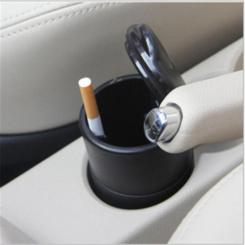 Image of Portable Ashtray w Lid &  L.E.D. Light - swagger4you