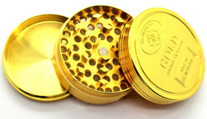 S4Y herb GRINDER 4pc with Pollen Catcher - swagger4you