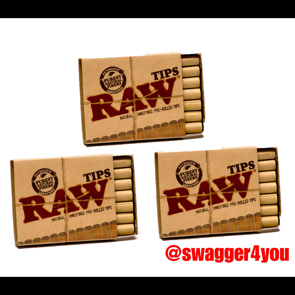 RAW pre-rolled tips - swagger4you