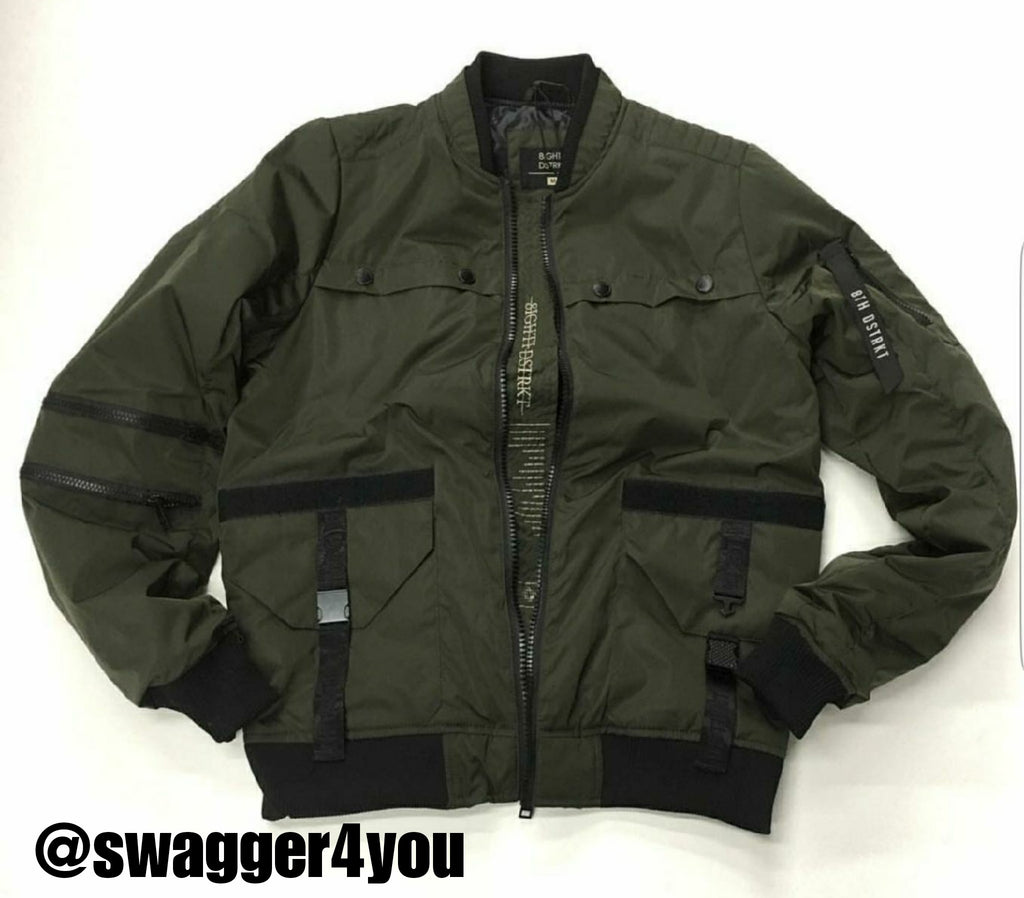 8th DSTRK bomber - swagger4you