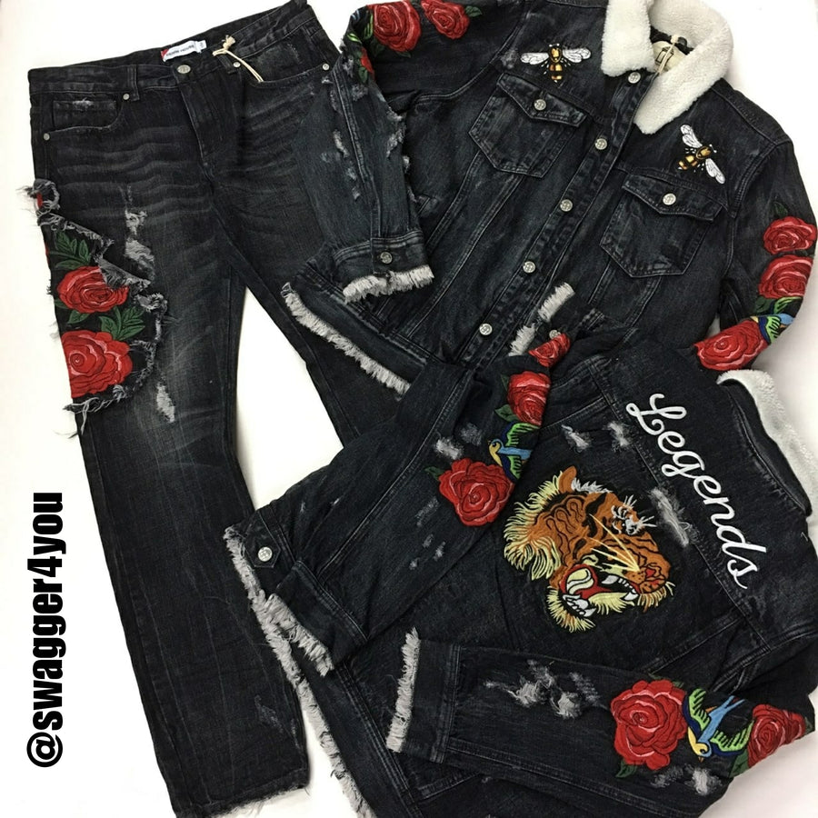 LEGENDS by Denim House set - swagger4you