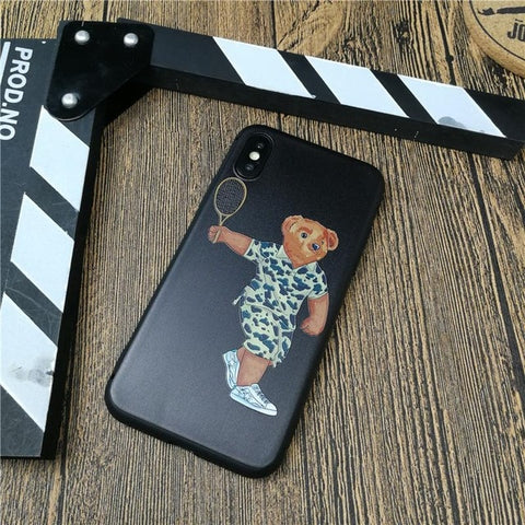 S4Y Bear Iphone Case - swagger4you