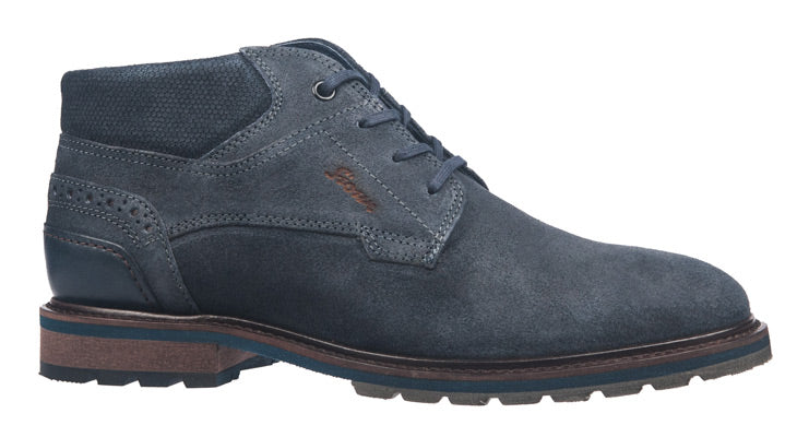 Men's Sioux navy suede boot