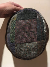 John Hanly & Co tweed patchwork hat