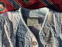 Vintage Coogi 3D knitted cotton vest