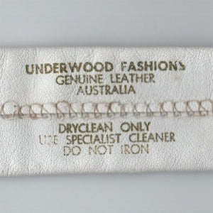 Vintage Underwood Fashions tie