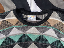 Vintage COOGI 3D knitted jumper, Made in Australia, Large
