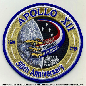 Apollo 12 50th Anniversary Commemorative Patch