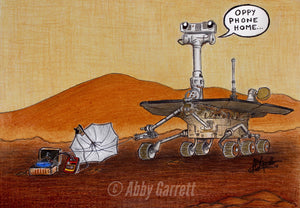 Oppy Phone Home (Signed Artist Proof)