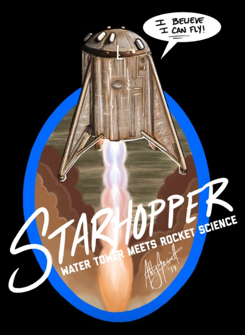 Starhopper v1 T-Shirt (Adult)