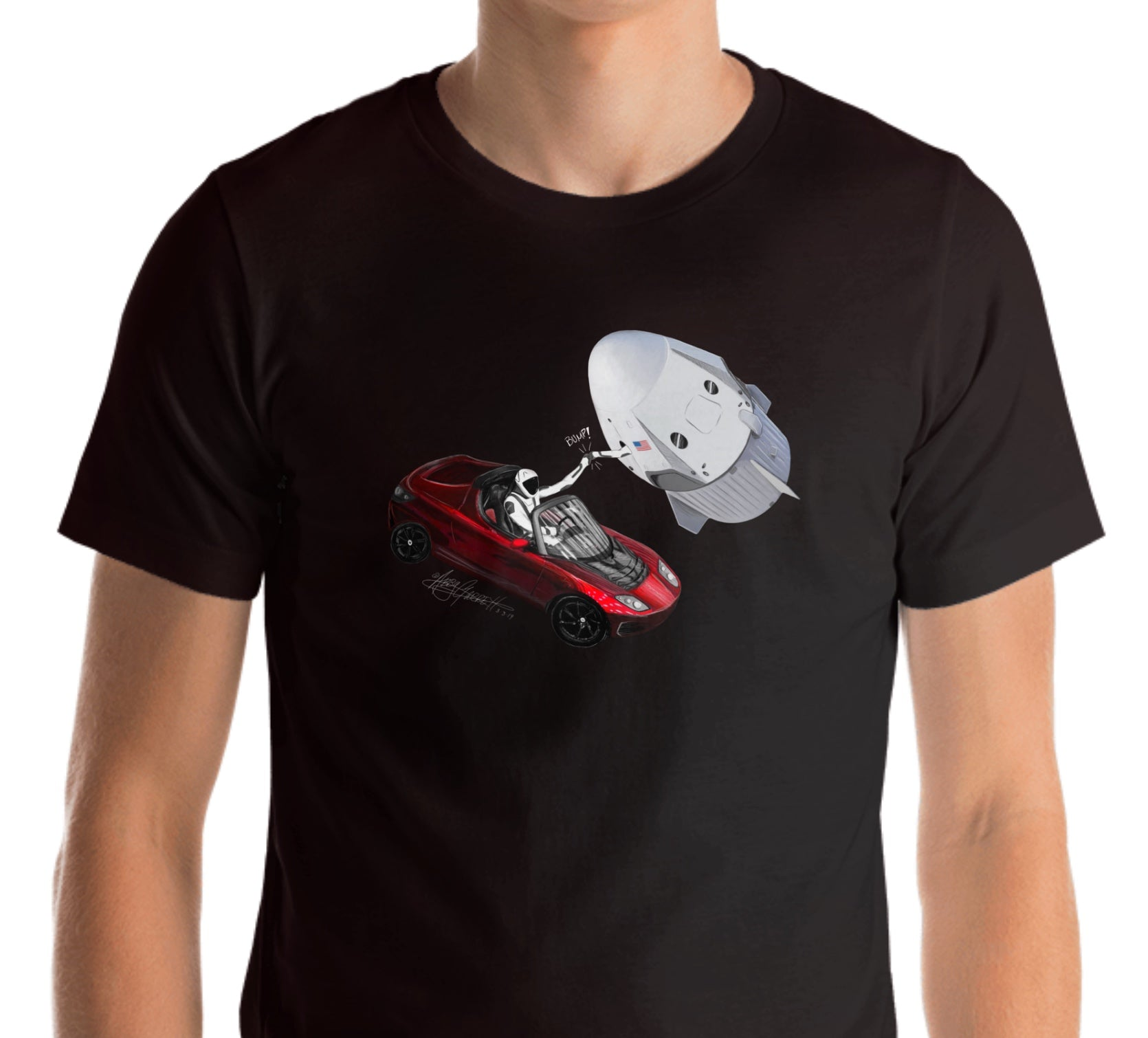 Starman & Ripley Fist Bump Lightweight Shirt (Adult)